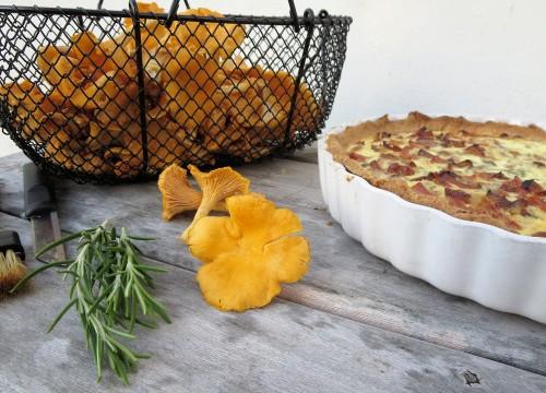 Svampetærte med rosmarin. Foto: Mie Buus/Museum Thy.